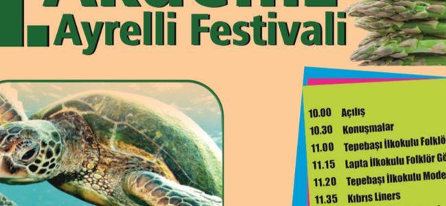 """Akdeniz Ayrelli Festivali"""" Pazar günü"""