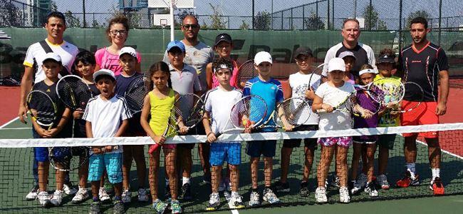Tenisçiler Bursa'da