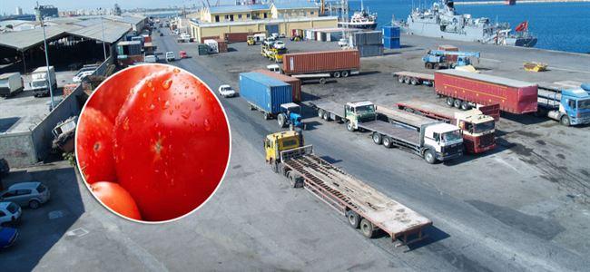 İthalatı yasak domatese el konuldu