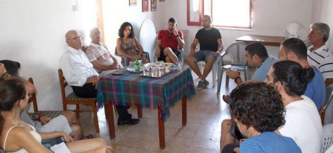 Talat, BARAKA'yı ziyaret etti