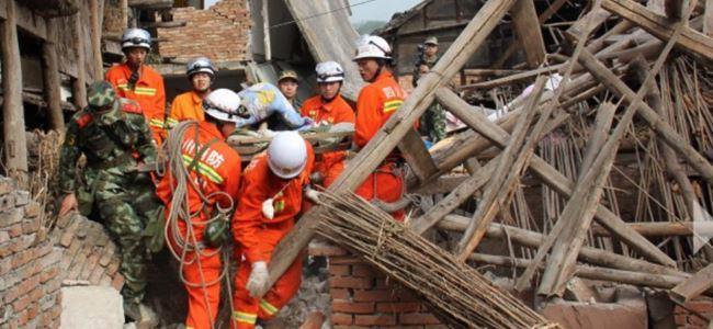 Depremde 20 yaralı