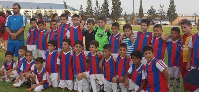 Y.Boğaziçi'de futbol heyecanı yaşandı