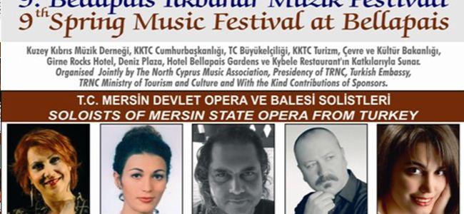 Bellapais Müzik Festivali 18 Nisan'da