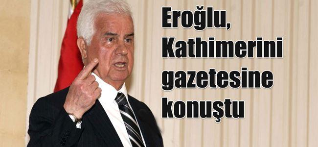 Eroğlu, Cumhurbaşkanlığı adaylığı konusunda konuştu