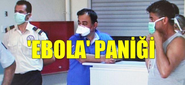 Mağusa Hastanesi'nde EBOLA ŞÜPHESİ!