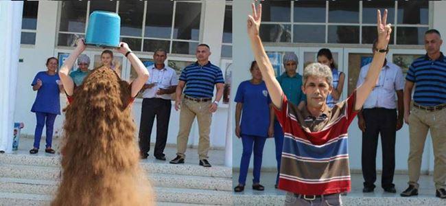 Bir Kova Kum Kampanyasına Kıbrıstan destek