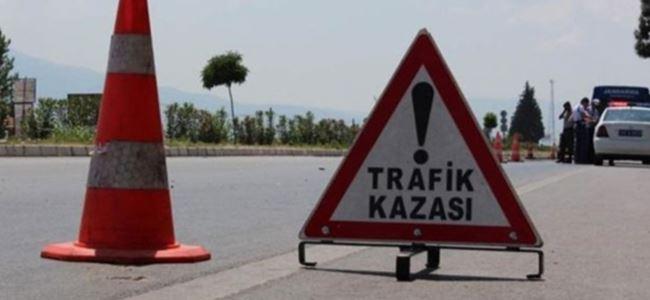 Trafik kazası:1 AĞIR YARALI