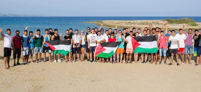 CTP Filistinli öğrencilerle el ele