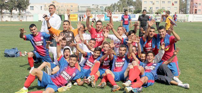 Cihangir U19ları şampiyon