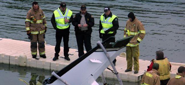 Küçük uçak düştü... Kurtulan olmadı