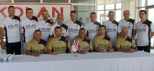 Kolan British Master Team kuruldu
