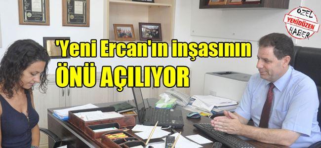 Ercan'dan Beyköy'deki ASKERİ BÖLGEYE