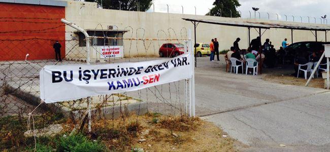 Cezaevindeki grev devam ediyor