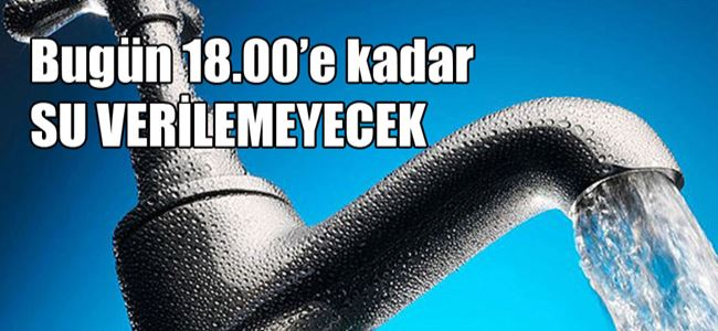 Lefkoşa ve Mağusada SU KESİNTİSİ