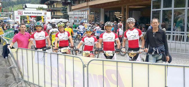Bisikletçilerimiz Avusturya'da kürsüye çıktı