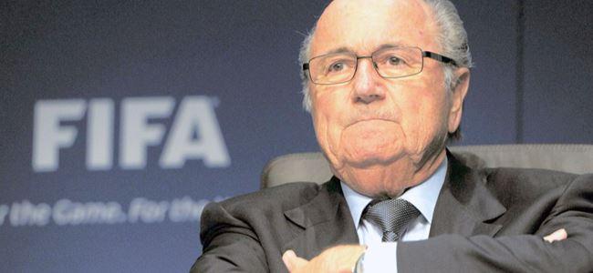Champagne'in rakibi Blatter