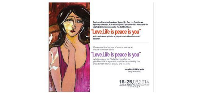 Lübnanlı sanatçı eserlerini Kıbrısta sergileyecek
