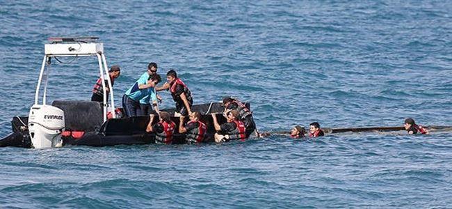 Tekne battı, 164 kişi KAYIP