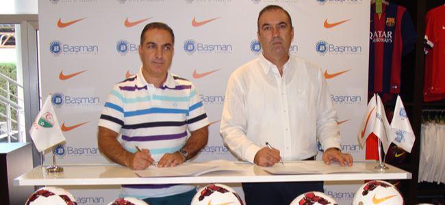 Top sponsorluğu imzalandı