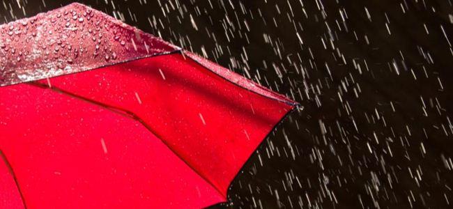 Yağmur var