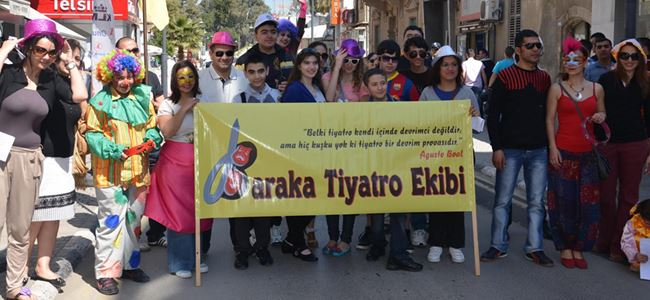 Baraka, gençlik tiyatrosu kuruyor