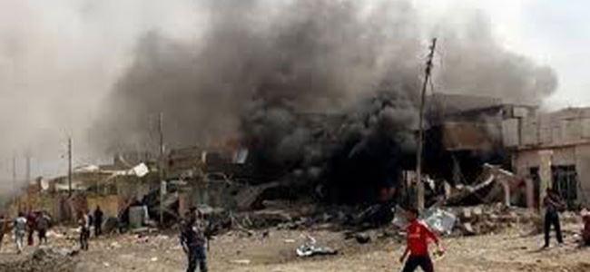 Kerkükte bomba yüklü araçlar patlatıldı