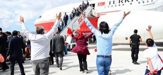 46 Türkiye vatandaşı rehine serbest