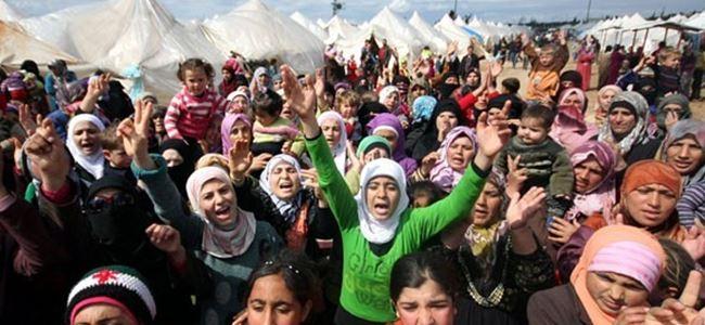 Türkiyeye 60 bin Suriyeli sığınmacı