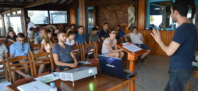 CTP'li gençler sosyal sorunlara yönelik projeler üretti