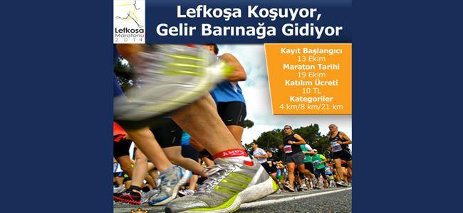 Lefkoşa Maratonu 19 Ekim'de