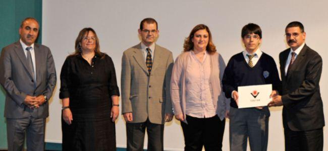 TÜBİTAK ödülleri düzenlenen törenle verildi