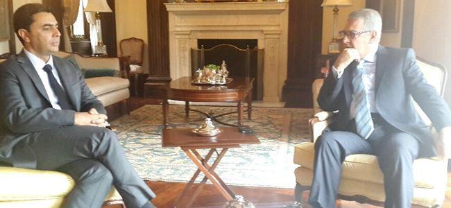 Nami, Temsilciler Meclisi Üyesi Connolly ile görüştü