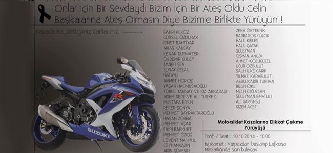 Dikkat! MOTOSİKLET KAZASI