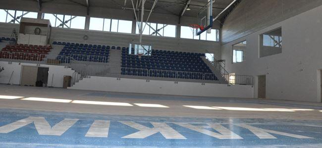 YDÜ'nün spor mabedi yarın açılıyor