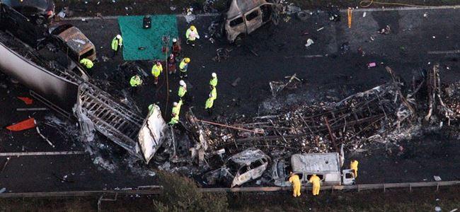 Kazada 27 kişi hayatını kaybetti!