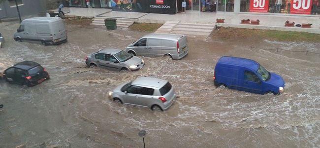 En çok yağmur Mağusa'ya yağdı