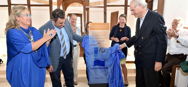 """Agios Nicolaos Kilisesi"" projesi tamamalandı"