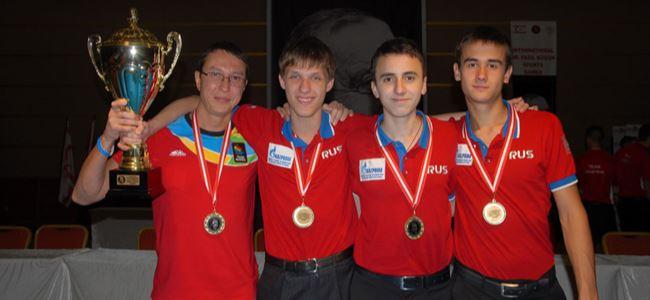 Bilardoda şampiyon Rusya