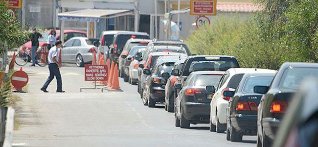 Cezalarını ödemeyen Kıbrıslı Rumlara sınır kapılarında kontrol