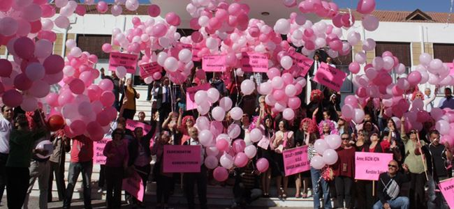 """""""Pink Day – Pembe Gün"""" etkinliği gerçekleşti"""