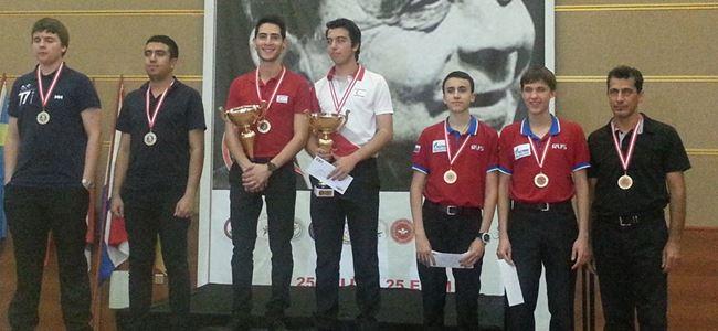 Sözgen ve Mehmetcik şampiyon