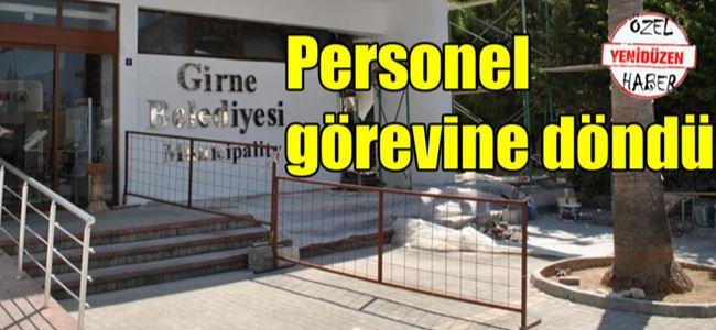 Girne Belediyesi'nde uzlaşı sağlandı