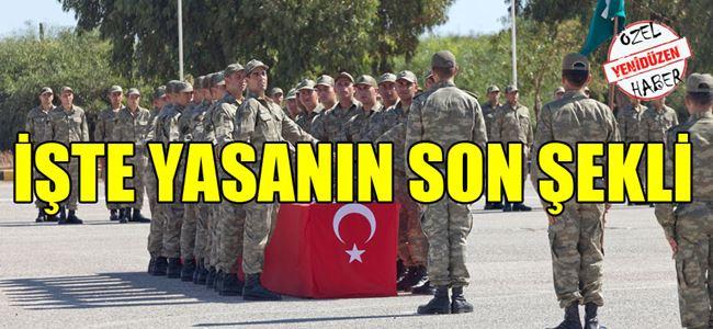 Askerlik Yasa Önerisi Pazartesi görüşülecek