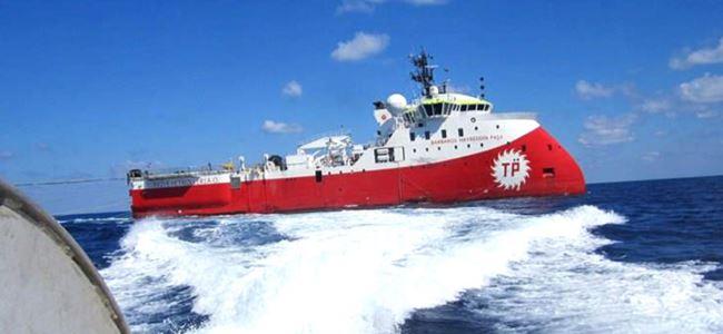 TC Deniz Kuvvetleri Barbaros'a 'koruma' gönderdi