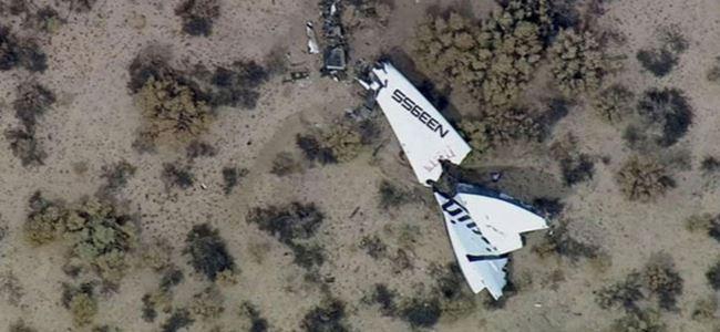 ABDde uzay gemisi kazasında pilot öldü