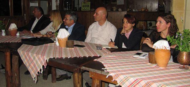 Mehmetçikte Cittaslow toplantısı yapıldı