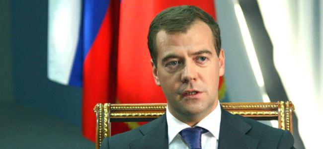 Medvedev: Kıbrıs için AB'ye teşekkür edelim