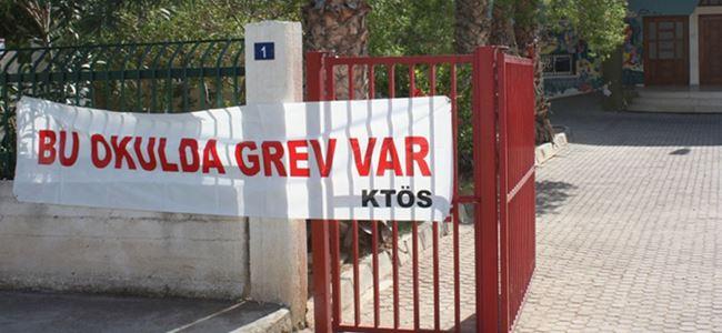 Beş okulda grevler devam ediyor