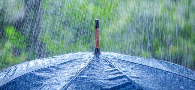 Bugün sağanak yağmur var