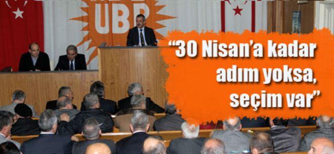 UBP'li vekiller kararlı…